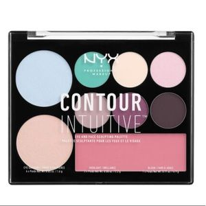 NYX Contour Intuitive Eye & Face Sculpting Palette